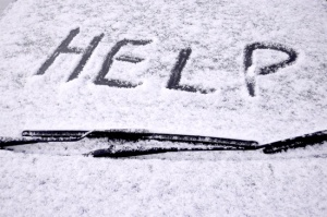 Help in the snow